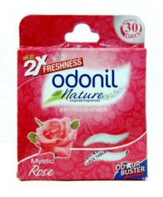 ODONIL NATURE MYSTIC ROSE AIR FRESHENER (BLOCK) - 50 GM