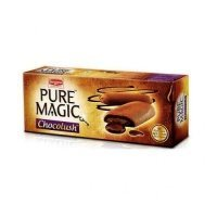 BRITANNIA PURE MAGIC - CHOCOLUSH BISCUITS - 75 GM PLUS BRITANNIA GOOD DAY FREE