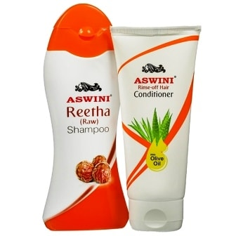 ASWINI SHAMPOO & CONDITIONER - COMBO PACK - 100 ML EACH