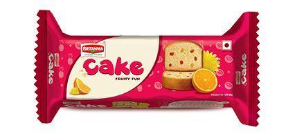 BRITANNIA CAKE FRUITY FUN - 45 GM