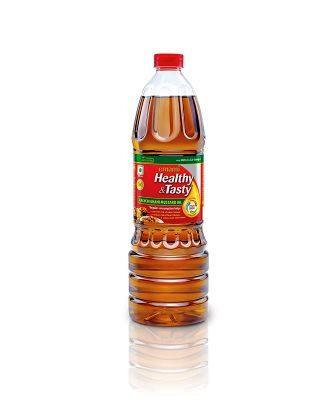 EMAMI HEALTHY & TASTY KACHI GHANI MUSTARD OIL - BOTTLE - 200 ML