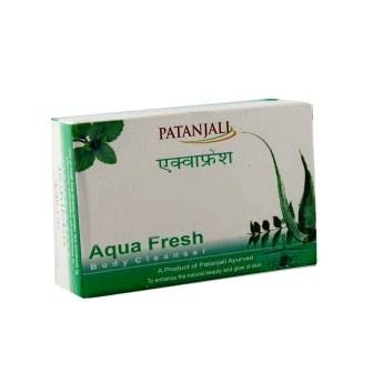 PATANJALI AQUA FRESH SOAP - 75 GM
