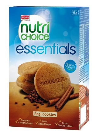 BRITANNIA NUTRI CHOICE OATS COOKIES BISCUITS (SUGAR FREE) - 150 GM
