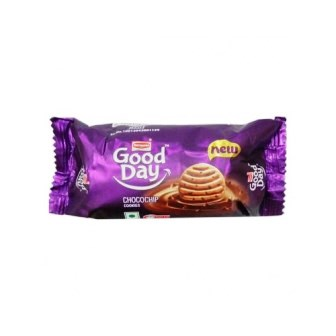 BRITANNIA GOOD DAY COOKIES - CHOCO CHIP - 52 GM X 2