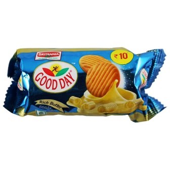 BRITANNIA GOOD DAY COOKIES - BUTTER - 38 GM X 2