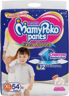 MAMY POKO PANTS EXTRA ABSORB EXTRA LARGE - 54 PCS SPECIAL OFFER FOR LIMITED TIME