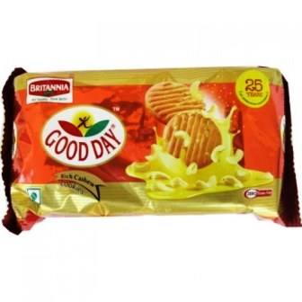 BRITANNIA GOOD DAY COOKIES - CASHEW - 200 GM