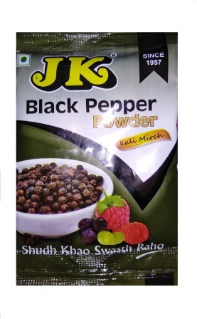 JK BLACK PEPPER POWDER - GOLMORICH GURO - 8 GM
