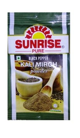 SUNRISE BLACK PEPPER POWDER - 10 GM