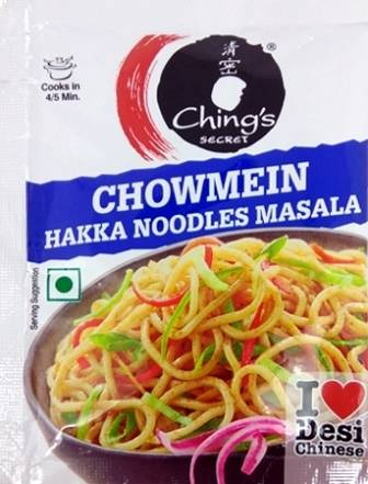 CHINGS CHOWMEIN MASALA - HAKKA NOODLES - 20 GM
