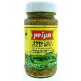 PRIYA GREEN CHILLI PICKLE - 300 GM