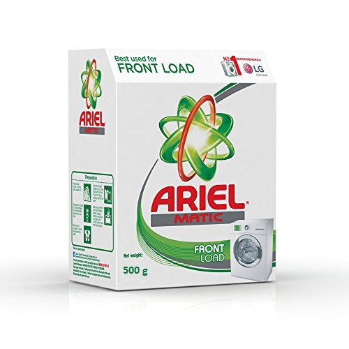 ARIEL DETERGENT POWDER MATIC FRONT LOAD - 500 GM