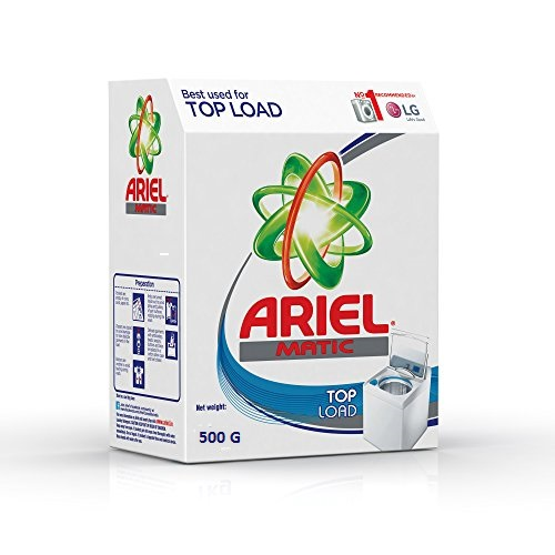ARIEL DETERGENT POWDER MATIC TOP LOAD - 500 GM