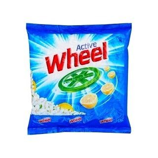 ACTIVE WHEEL DETERGENT POWDER - 400 GM