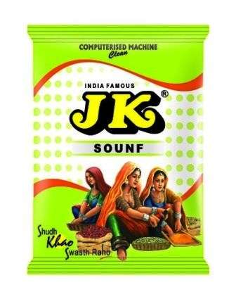 JK SOUNF - MOURI - FENNEL SEEDS - 50 GM