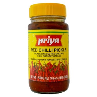 PRIYA RED CHILLI PICKLE - 300 GM