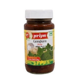 PRIYA GONGURA PICKLE - 300 GM