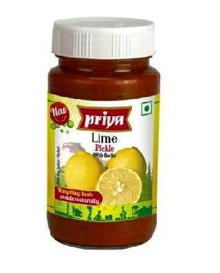 PRIYA LIME PICKLE - 300 GM