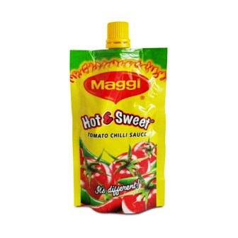 MAGGI HOT & SWEET TOMATO CHILLI SAUCE PICHKOO - 90 GM