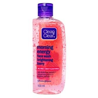 CLEAN & CLEAR MORNING ENERGY BRIGHTENING BERRY FACE WASH - 100 ML