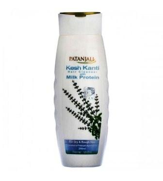 PATANJALI KESH KANTI MILK PROTEIN HAIR CLEANSER SHAMPOO - 200 ML