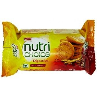 BRITANNIA NUTRI CHOICE DIGESTIVE BISCUITS - 50 GM X 2