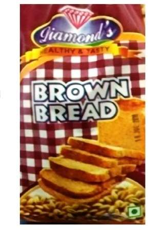 SLICED BROWN BREAD - 400 GM