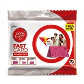 GOOD KNIGHT FAST CARD - 1 PC