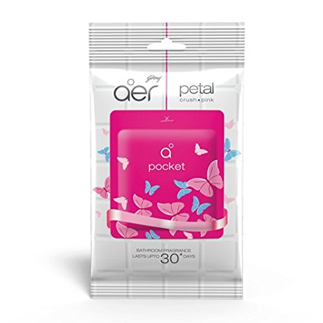 GODREJ AER POCKET PETAL BATHROOM FRAGRANCE - 10 GM
