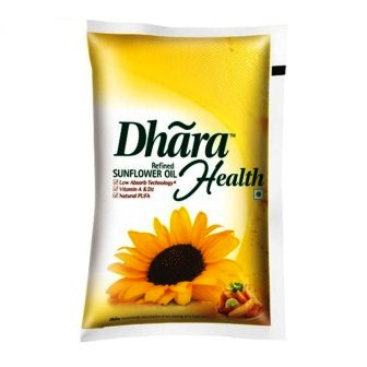 DHARA HEALTH REFINED SUNFLOWER OIL - 1 LTR