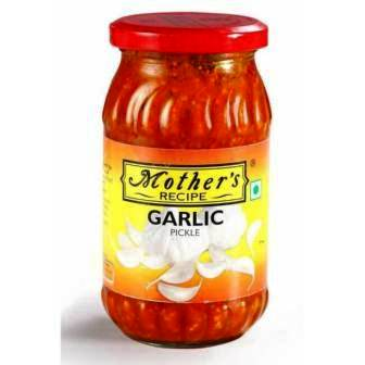 MOTHERS GARLIC PICKLE - 300 GM
