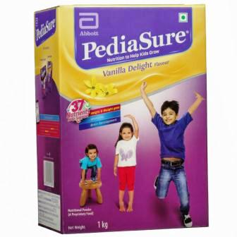 PEDIASURE VANILLA DELIGHT HEALTH DRINK - REFILL PACK - 1 KG