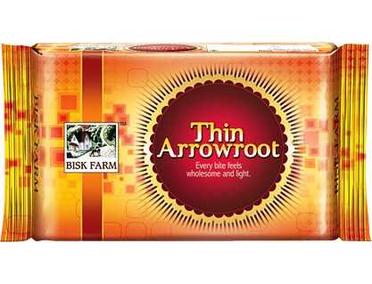 BISK FARM THIN ARROWROOT - 300 GM