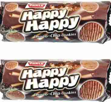 PARLE HAPPY HAPPY CHOCO CHIP COOKIES - 45 GM - 2PCS