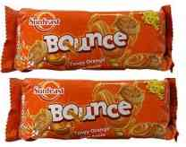 SUNFEAST BOUNCE TANGY ORANGE BISCUITS - 41 GM X 2