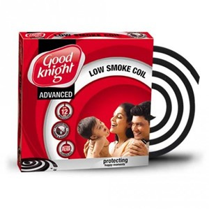 GOOD KNIGHT ACTIV LOW SMOKE MOSQUITO COIL - 10 PCS