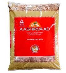 AASHIRVAAD ATTA - ATA - WHEAT - 5 KG
