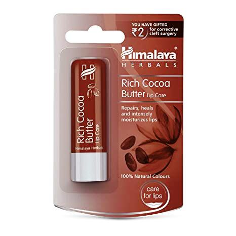 HIMALAYA RICH COCOA BUTTER LIP CARE - 4.5 GM