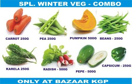 SPECIAL WINTER VEG COMBO