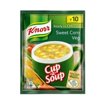 KNORR SWEET CORN VEG SOUP - 10 GM