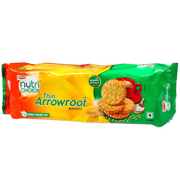BRITANNIA NUTRI CHOICE THIN ARROWROOT BISCUITS - 300 GM