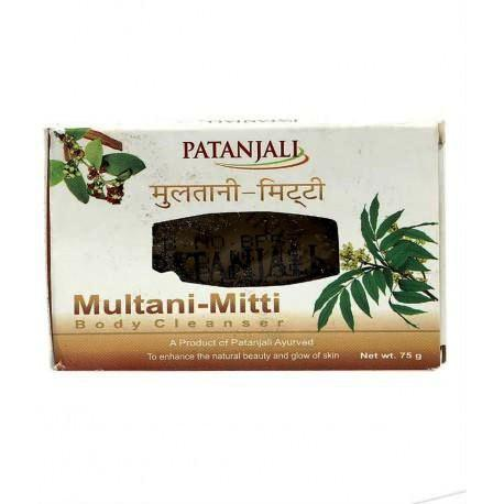 PATANJALI MULTANI MITTI BODY CLEANSER SOAP - 75 GM
