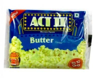 ACT II BUTTER POPCORNS - 35 GM