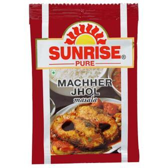 SUNRISE FISH CURRY MACHHER JHOL MASALA POUCH - 8 GM