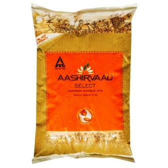 ASHIRVAAD SELECT WHOLE WHEAT SHARBATI ATTA ATA - 1 KG