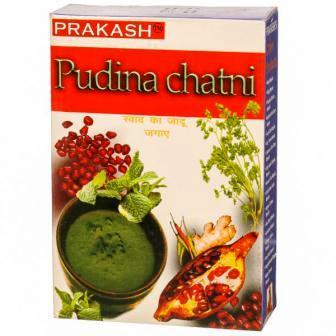 PRAKASH PUDINA CHATNI CHUTNI - 50 GM