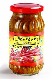 MOTHERS RED CHILLI PICKLE - 400 GM
