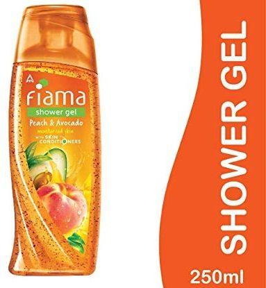 FIAMA SHOWER GEL- PEACH & AVOCADO (MILD DEW) - 250 ML