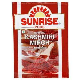 SUNRISE PURE KASHMIRI MIRCH POWDER - 8 GM