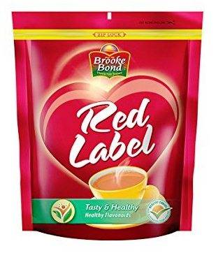 BROOKE BOND RED LABEL TEA POUCH - 250 GM
